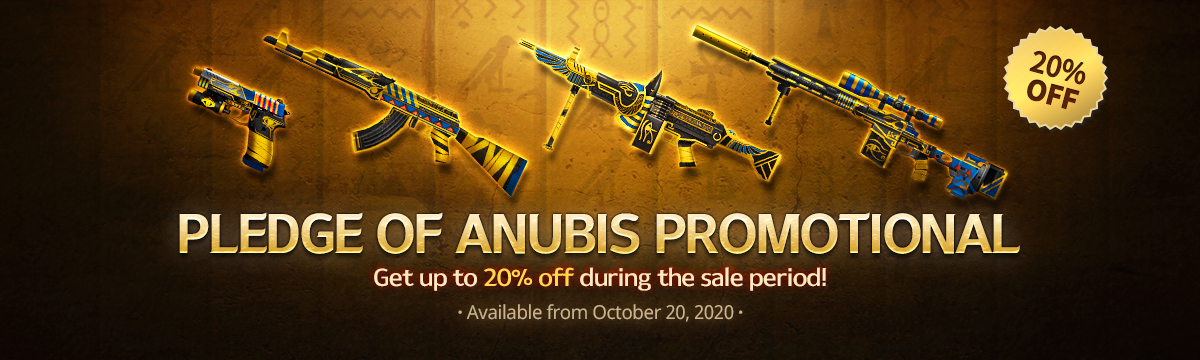 Anubis Weapons
