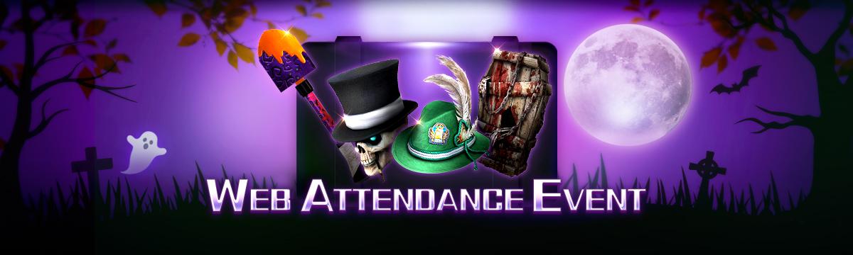 October Web Attendance Event