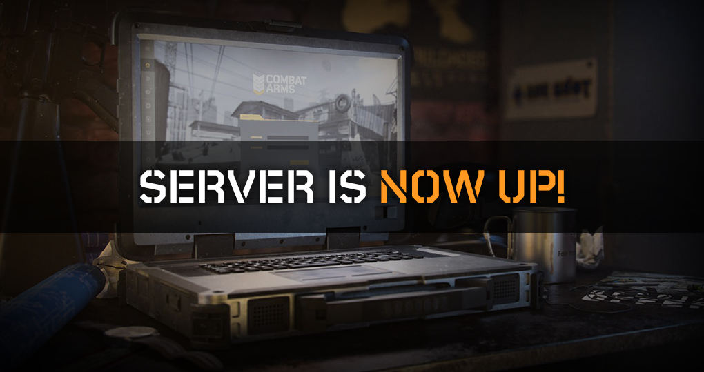 SERVER IS NOW UP 02/13/2019