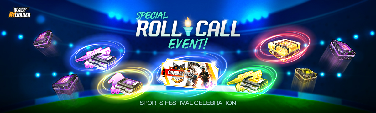 Sports Festival Celebration Special Roll-call Event